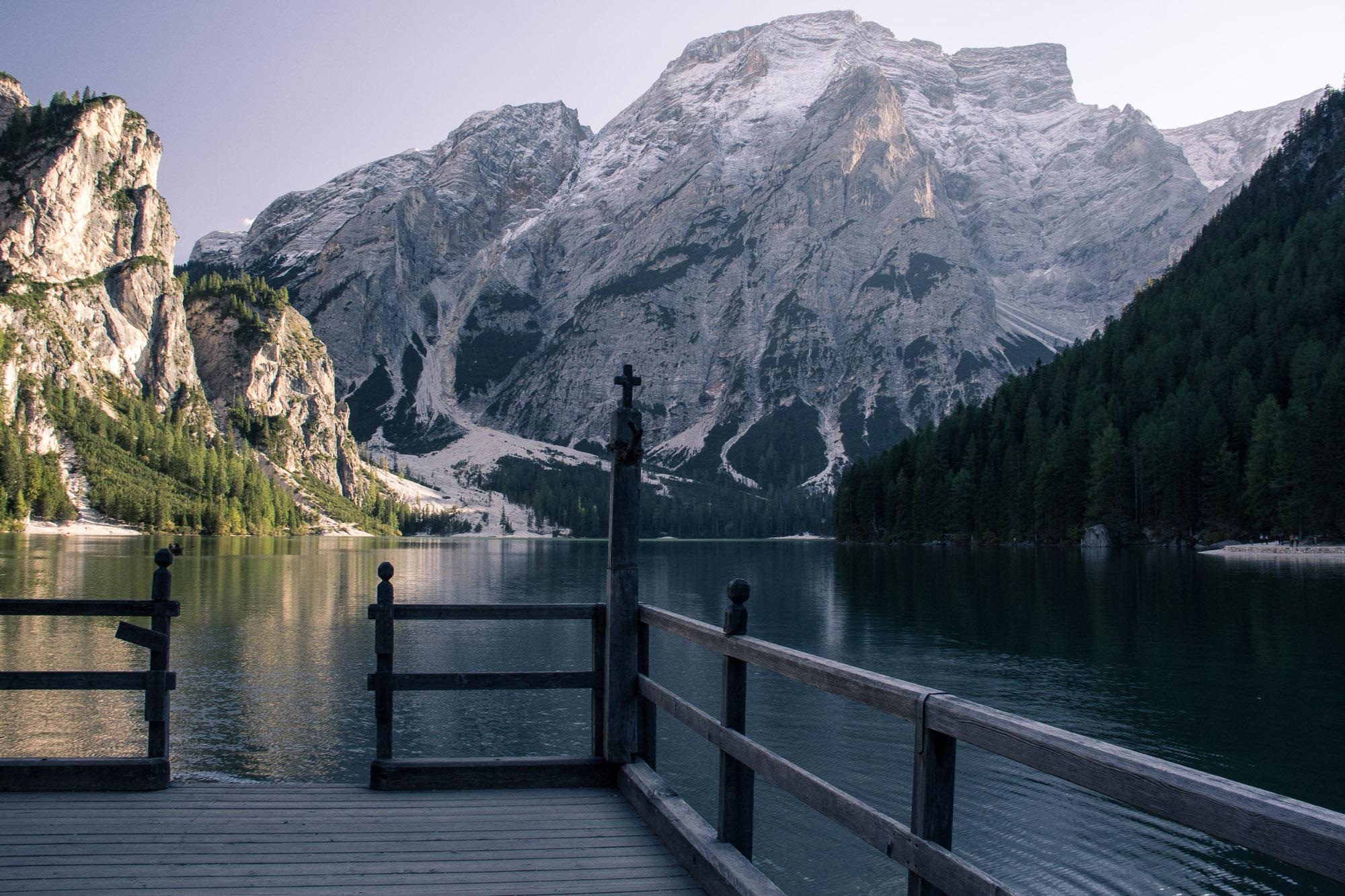 Lago di Braies, Dolomites.