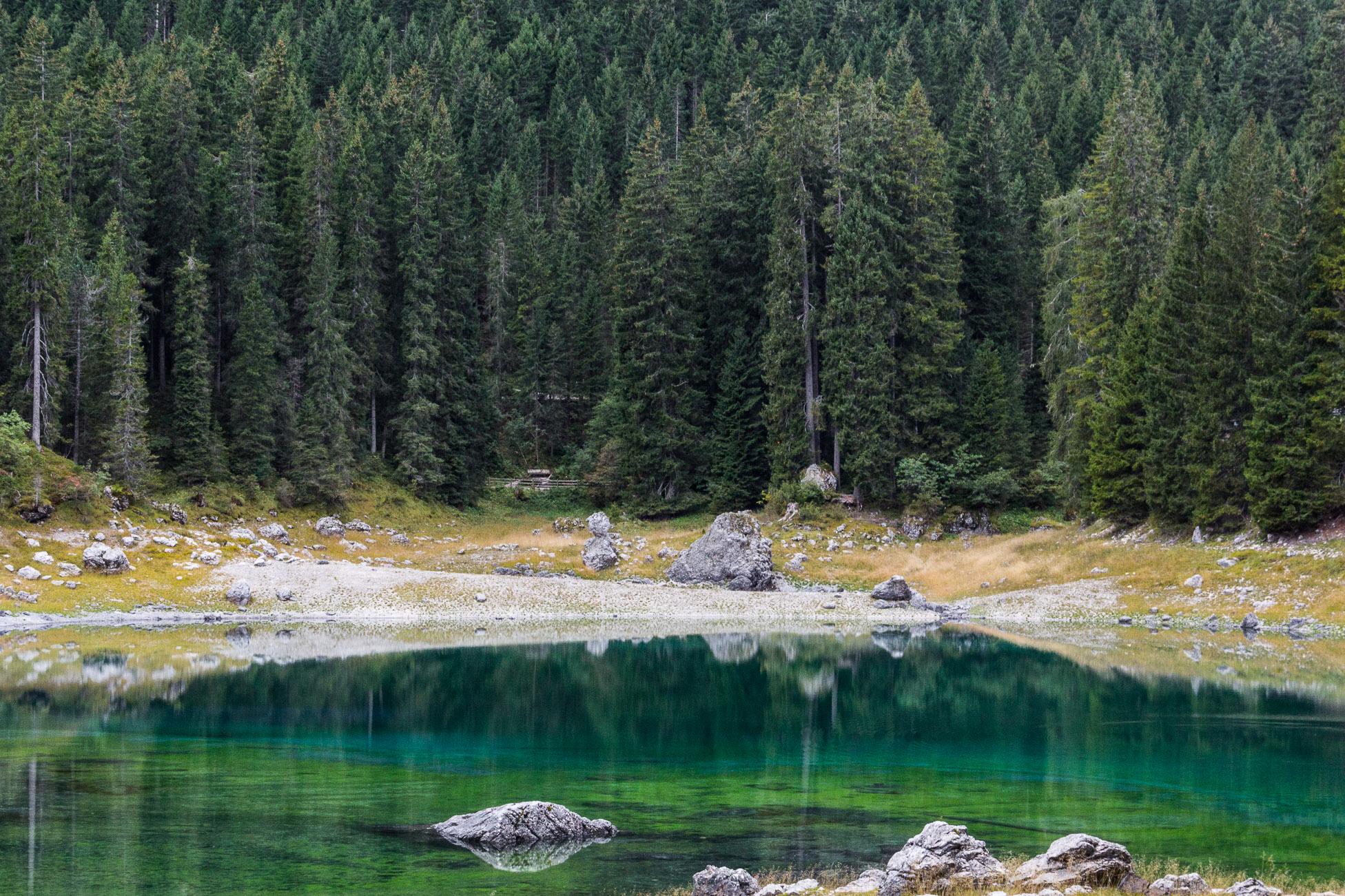 Lago di Carezza, Dolomites