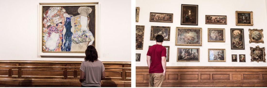 Oeuvres d'art au musée du Belvedere à Vienne, Autriche.