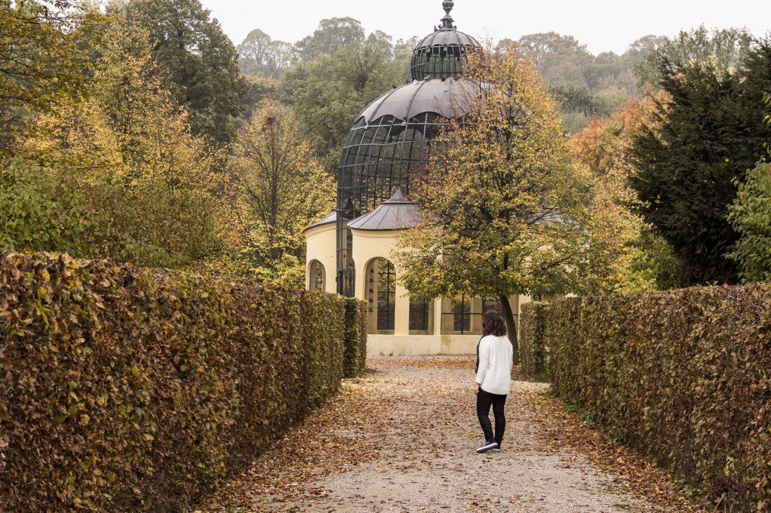 Jardin du Musée de Schönbrunn à Vienne.
