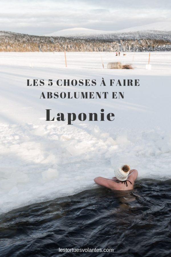 Laponie - image pour Pinterest.