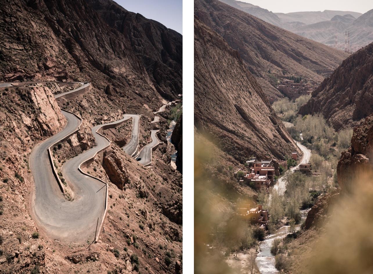 Gorges du Dadés - Maroc.