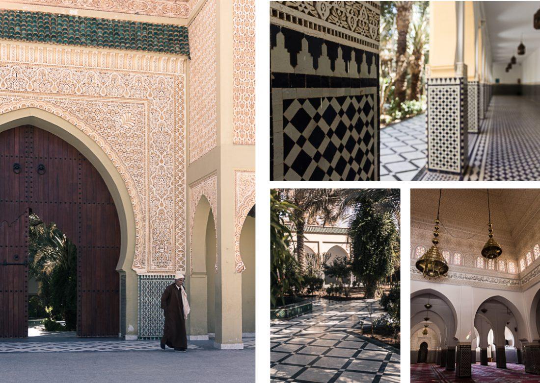 Mosquée de Rissani au Maroc.