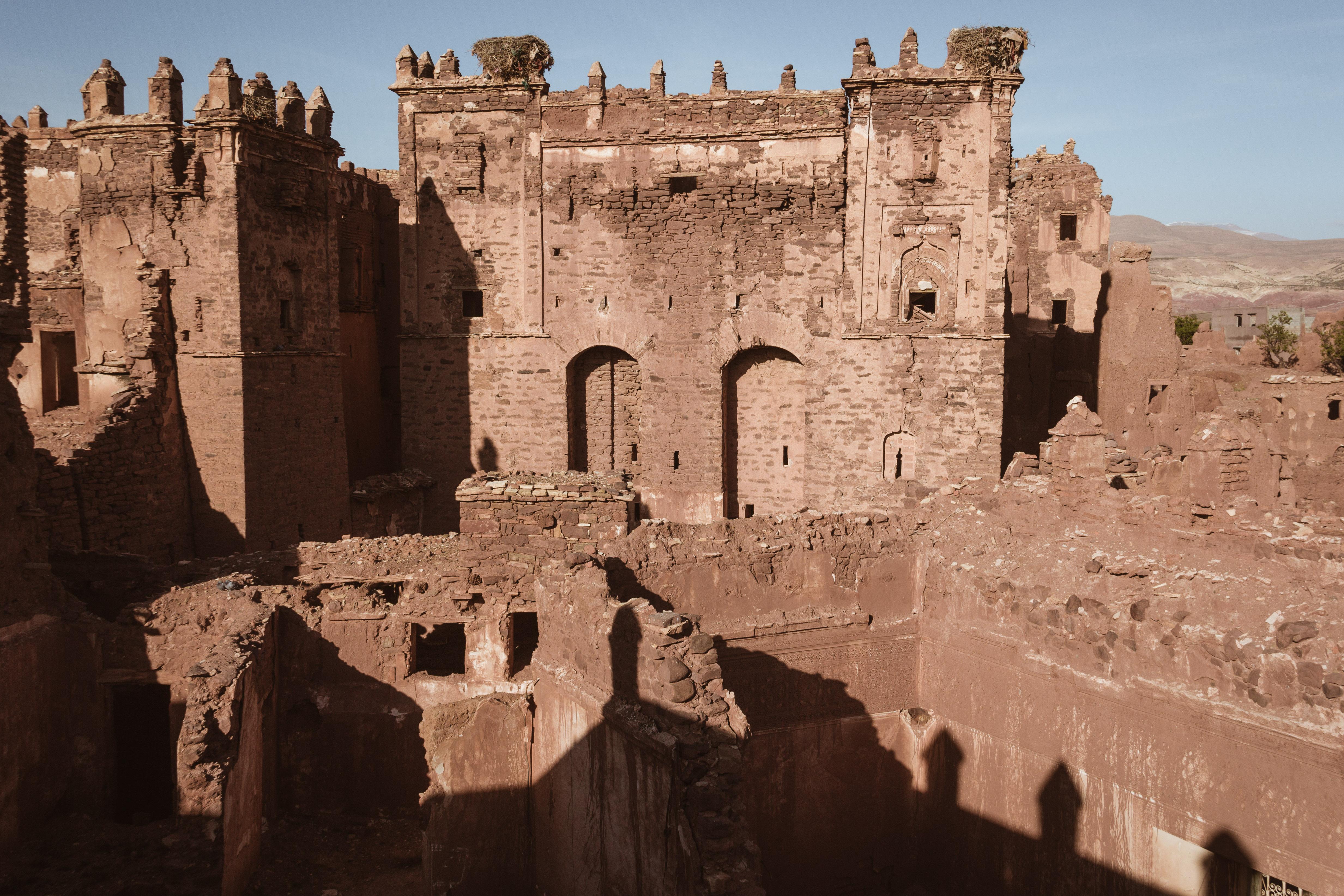 Le ruines de la Kasbah Telouet au Maroc.